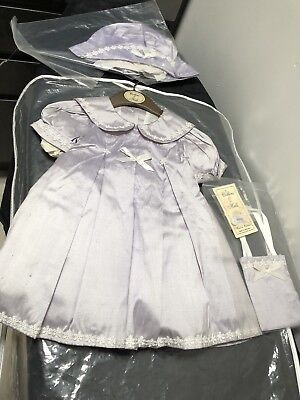 BNWT Collins & Hall Christening Dress Beautiful Heirloom Collection 6m Apx £69rp
