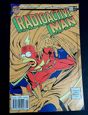 Bongo Comics Radioactive Man #1000  January 1999