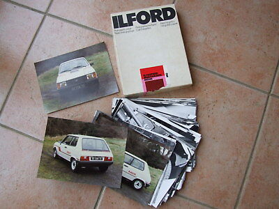46 original photos of Talbot Samba Rallye from Talbot Competition Dept Coventry