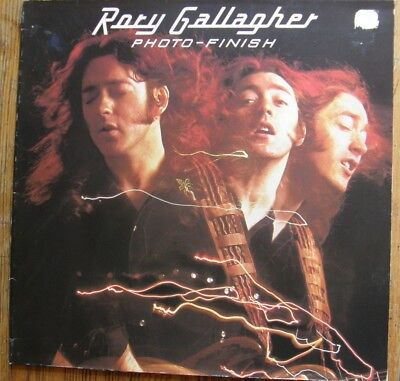 Rory Gallagher Photo Finish Vinyl LP Gatefold Sleeve