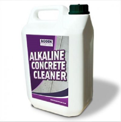 Boden Alkaline Concrete Floor And Forecourt Cleaner Remove Oil Grease & Stains