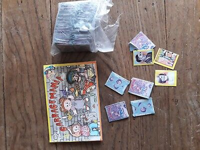 Garbage pail kids.garbagemania album +150 envelopes x 3 stickers.from Uruguay