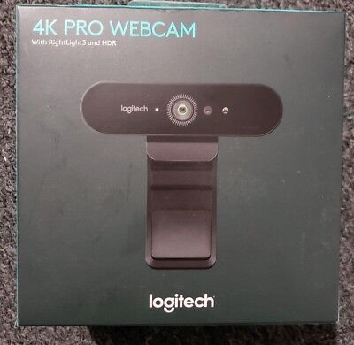 Logitech 4K  Pro Webcam HDR 5x Zoom for PC Mac Video Conferencing