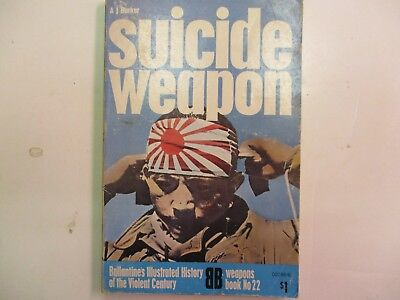 Ballantine Weapons Book #22 Suicide Weapon by A.J. Barker