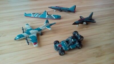 Micro Machines Military Planes Submarine and Vehicle