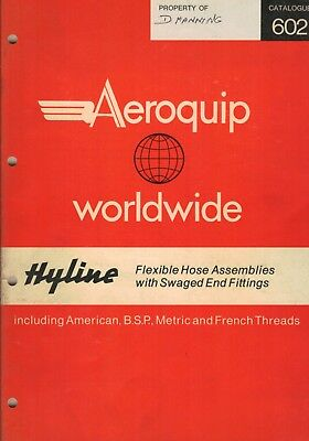 Aeroquip Hyline Flexible Hose Assemblies With Swaged End Fittings Catalogue 475F