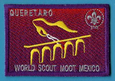 WORLD SCOUT MOOT MEXICO Scout badge / patch.  WORTH A LOOK!
