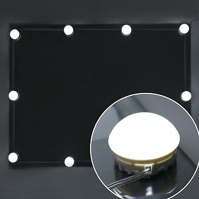 Vanity Mirror Lights, Guckmall 10 LED Dimmable Lights for Mirror, USB Power Supp