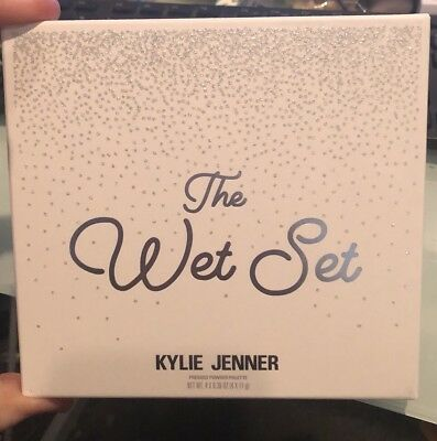 Kylie Cosmetics The Wet Set Highlighter Palette.LIMITED EDITION!SOLD OUT!!