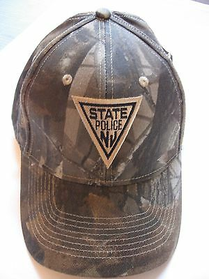 New Jersey State Police -  Camouflage  Hat - New