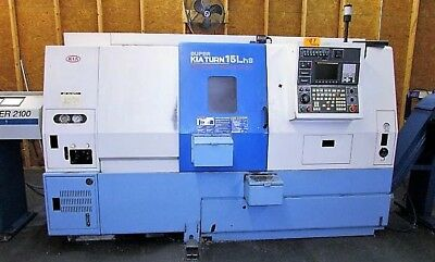 Kia Model Skt 15Lms Cnc Turning Center With Live Tooling & Sub-Spindle
