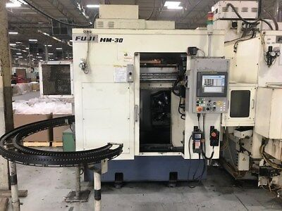 Fuji Model Hm-30T 4-Axis (Xyzc) Cnc Turning Center Lathe With Y-Axis Milling