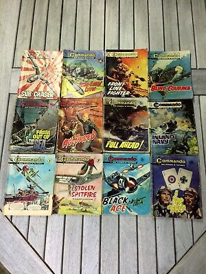 Free Post  Rare 41 Comics Pearsons  Battle  Library Commando Starblazer Air Ace