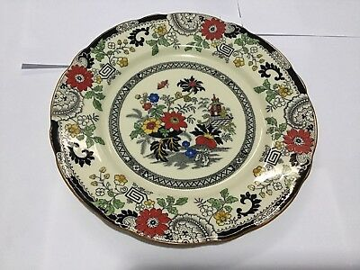 "Antique Coalport England Kingsware ""Canton"" 8-1/2 in. Plate Great Condition"