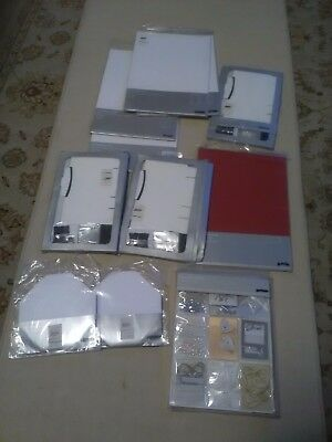Job lot of John Lewis ocassion card kit ,favour boxes and table place and printa