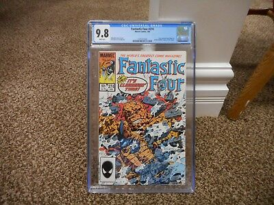 Fantastic Four 274 cgc 9.8 Marvel 1985 early Venom symbiote CLASSIC Thing cover