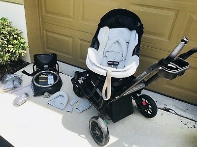AMAZING PREOWNED Orbit Baby G3 Stroller And Infant Car Seat Travel System Set