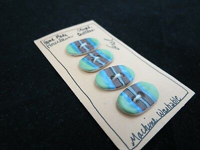 Handmade Porcelain Buttons, Arel Mishory, The Hands Work, Pecos NM