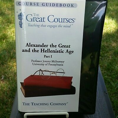 Alexander the Great and the Hellenistic Age Parts I & II with course guidebooks