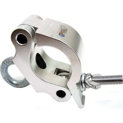 """Global Truss Eye Clamp Heavy Duty Clamp With Eyebolt fits 2"""" Truss 440 lb rated"""