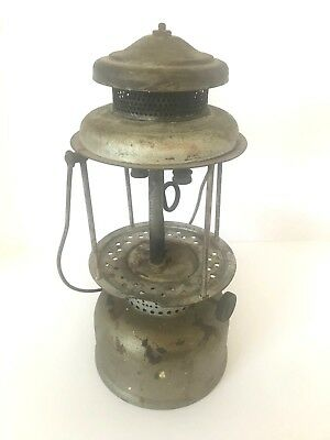 EARLY Antique Coleman Double Mantle Quick-Lite vintage Lantern 1920s