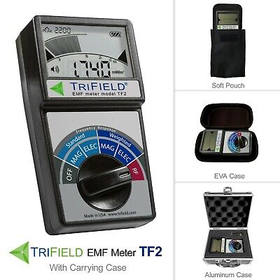 TriField EMF Meter Model TF2 with Carrying Case