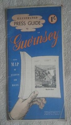 Illustrated Press Guide to Guernsey from 1950s