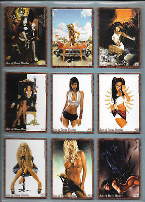 The Art Of Dave Nestler 45 card set w/inserts