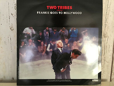 "FRANKIE GOES TO HOLLYWOOD (FGTH): ""Two Tribes / War"", 12"", UK-1984, ZTT, XZTAS3"