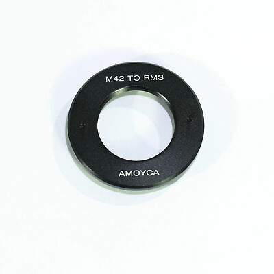 HOT Pixco RMS Royal Microscopy Society Lens to M42 Mount Adapter