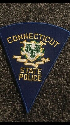 Connecticut State Police Patch-Reproduction