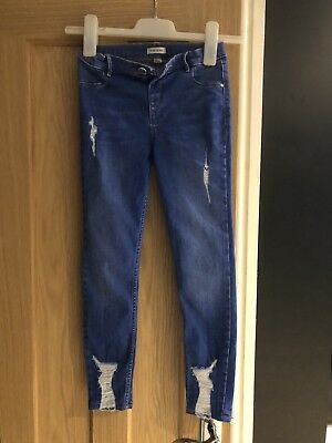 River Island Girls Jeans Age 9 Worn Once