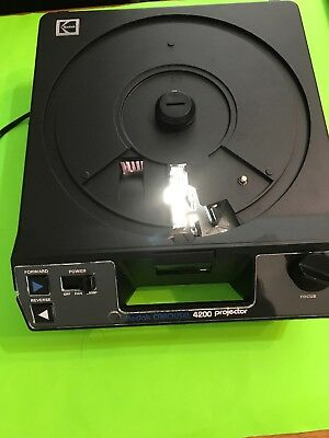 Kodak Carousel Slide Projector 4200 No Carousel or Remote