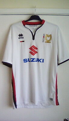 MK Dons home football shirt Milton Keynes soccer jersey 44-46 inch chest England