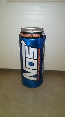 Nos Energy Drink 16oz High Performance Enhanced Drink 2 Cans Lot