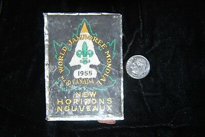 1955 Boy Scouts World Jamboree Patch