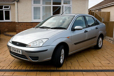 Ford Focus LX - 2004 - Saloon - Silver - 12 Months MOT