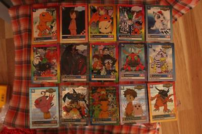 Digimon , Dragonball and Pokemon Trading Cards