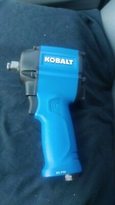 "Kobalt SGY-AIR185 1/2"" Inch Drive 450Ft-Lb Compact Impact Wrench Air Tool"