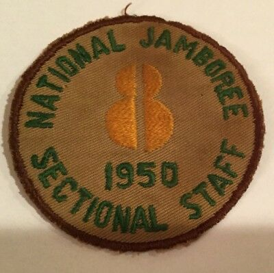 1950 National Jamboree Region 8 Sectional Staff Contingent Patch