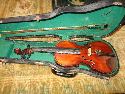 "Vintage 4 String 22"" Violin Fiddle"