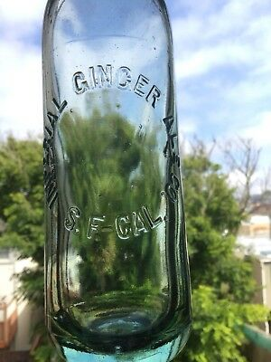 Antique imperial ginger ale co. bottle San Francisco California