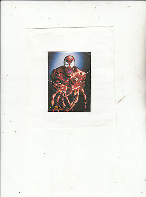 Spider-Man Premium 1996-Trading Cards-Canvas Card No 1 of 6 [Lot 5 ]- Cards