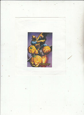 Spider-Man Premium 1996-Trading Cards-Canvas Card No 2 of 6  [Lot 4 ]- Cards
