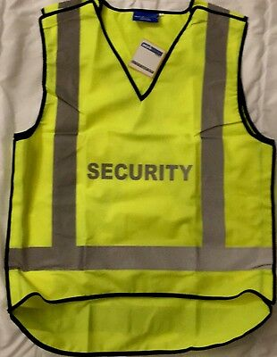 Workscene SECURITY Hi-Vis Vest Size XL