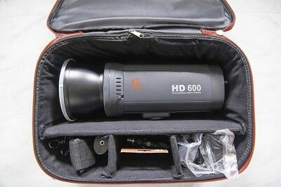 JINBEI HD 600 600W  PORTABLE STUDIO FLASH STROBE with TRS Remote
