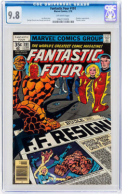 Fantastic Four #191 (Feb 1978, Marvel) CGC 9.8