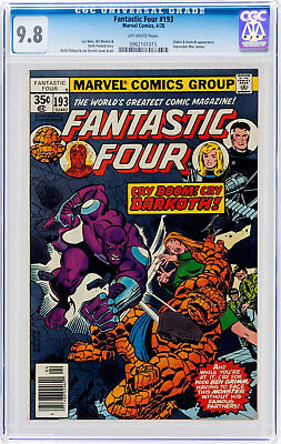 Fantastic Four #193 (Apr 1978, Marvel) CGC 9.8