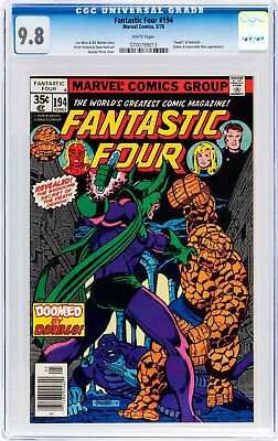 Fantastic Four #194 (May 1978, Marvel) CGC 9.8