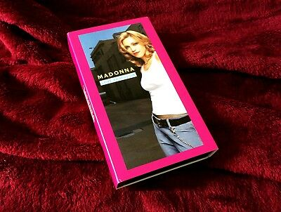Madonna Love Profusion VHS single Mega rare American Life promo lot Sex box MDNA